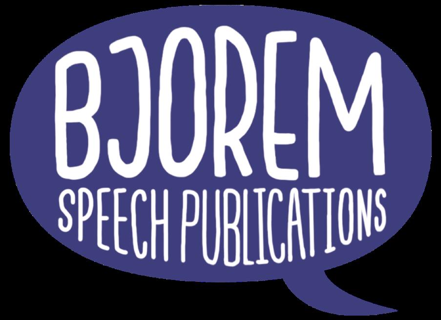 Bjorem Speech Publications